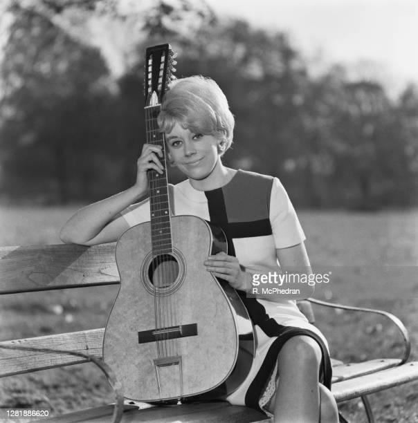 Singer and songwriter Barbara Ruskin, UK, 4th November 1965.