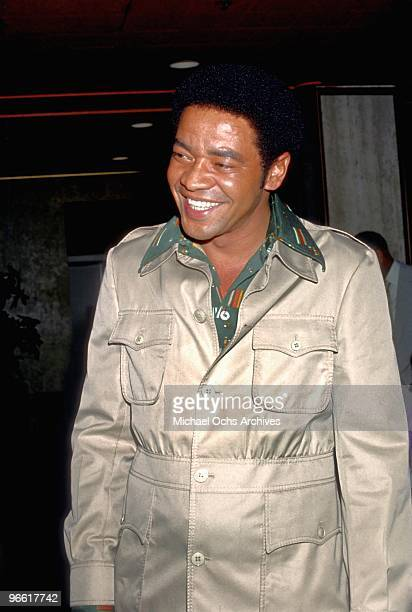 Singer and songwriter Bill Withers attends an event circa 1972 in Los Angeles California