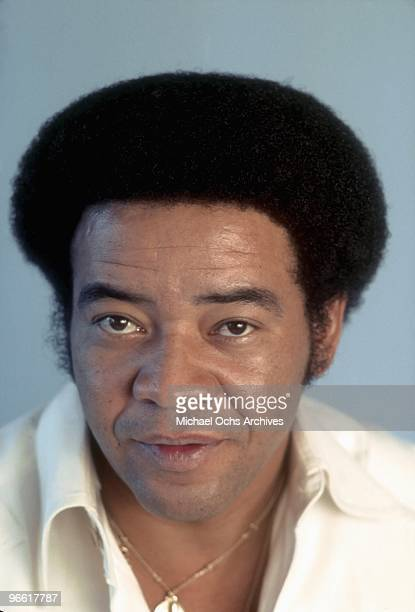 Singer and songwriter Bill Withers poses for a portrait on November 12 1975 in Los Angeles California