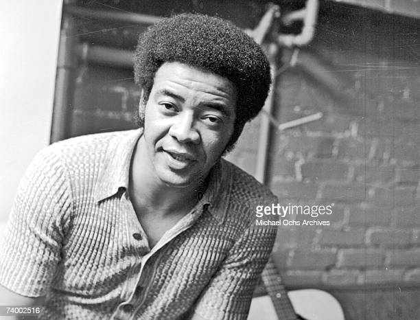 Singer and songwriter Bill Withers poses for a portrait on September 16 1971 in Los Angeles California