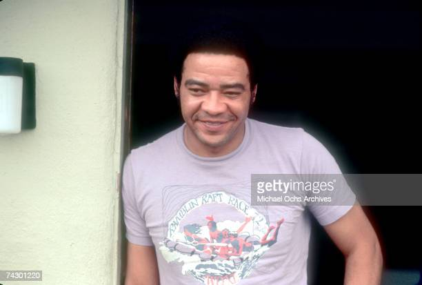 Singer and songwriter Bill Withers poses for a portrait on September 5 1972 in Los Angeles California