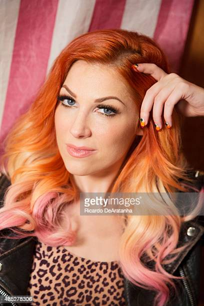 Singer and songwriter Bonnie McKee is photographed for Los Angeles Times on September 25 2013 in Los Angeles California PUBLISHED IMAGE