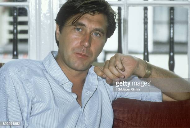 Singer and songwriter Bryan Ferry poses for a portrait at the Shelbourne Hotel on August 14 1982 in Dublin Ireland 170612F1