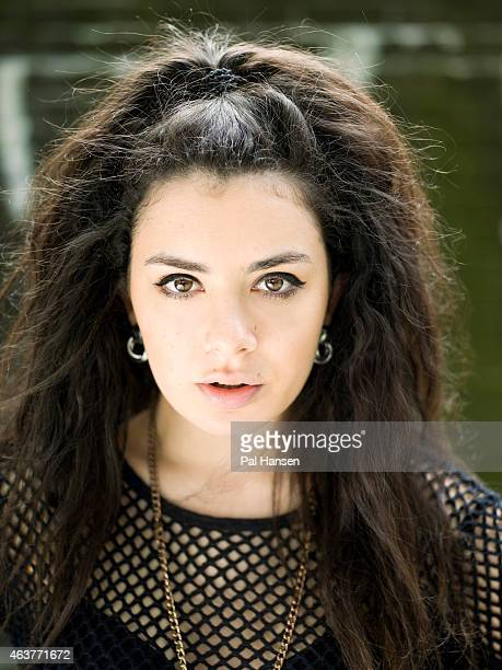 Singer and songwriter Charli XCX real name Charlotte Emma Aitchison is photographed for Under the Radar on July 5 2012 in London England