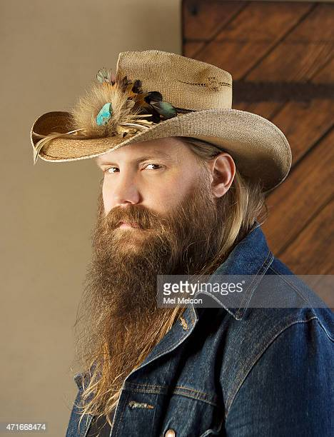 HOLLYWOOD CA APRIL 07 2015 Singer and songwriter Chris Stapleton is photographed for Los Angeles Times on April 7 2015 in West Hollywood California...