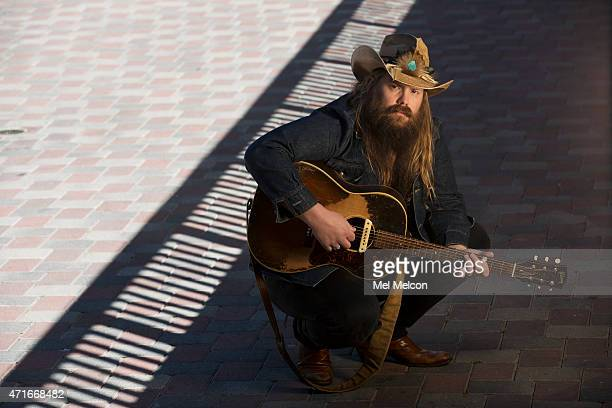 Singer and songwriter Chris Stapleton is photographed for Los Angeles Times on April 7, 2015 in West Hollywood, California. PUBLISHED IMAGE. CREDIT...