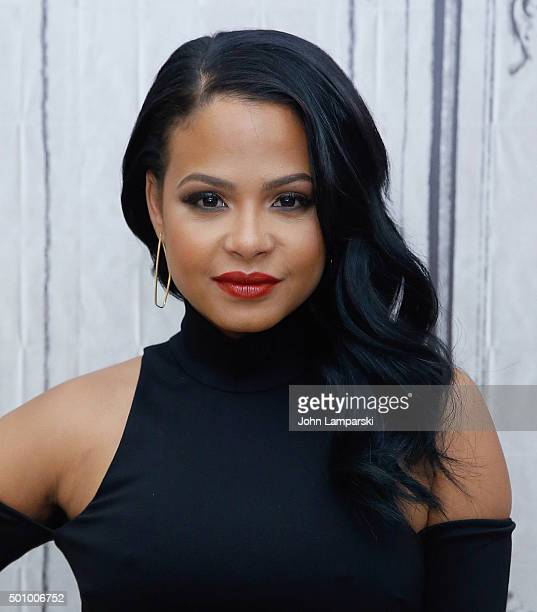 Singer and songwriter Christina Milian speaks about 'Grandfathered' and 'Christina Milian Turned Up' during AOL Build at AOL Studios In New York on...