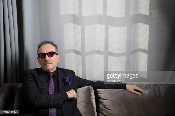 Singer and songwriter Elvis Costello is photographed for Los Angeles Times on November 13 2017 in Los Angeles California PUBLISHED IMAGE CREDIT MUST...