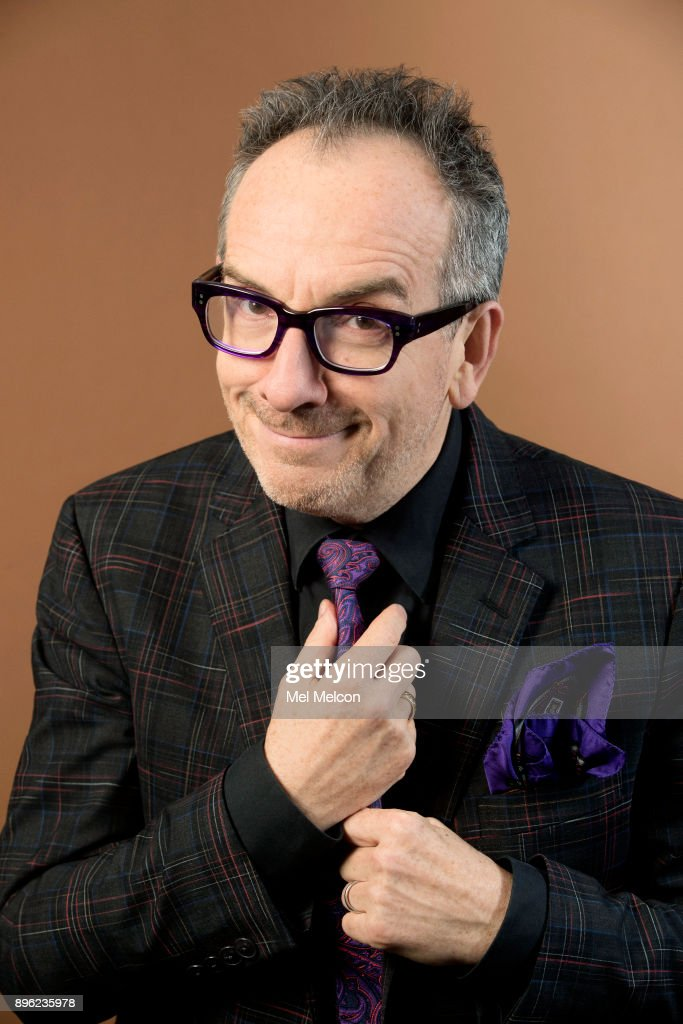 Singer and songwriter Elvis Costello is photographed for Los Angeles Times on November 13, 2017 in Los Angeles, California. PUBLISHED IMAGE.