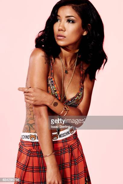 Singer and songwriter Jhene Aiko is photographed for Status on September 26 2016 in Los Angeles California