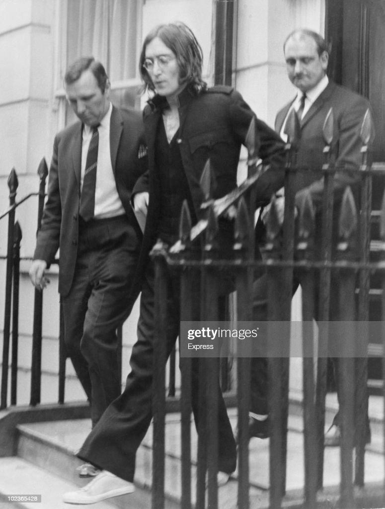 Lennon Heads For Court : News Photo