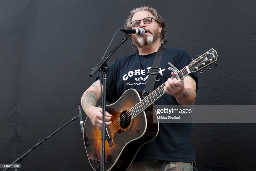 Singer and songwriter Kevin Seconds performs at The Greek Theater on August 20, 2017 in Berkeley, California.