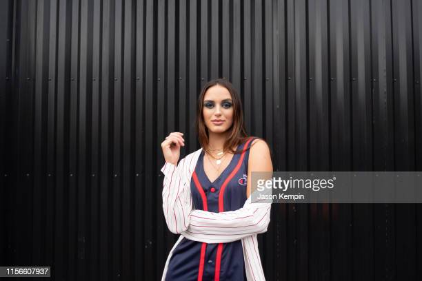 Singer and songwriter Lacy Cavalier is seen outside The Back Corner on June 17 2019 in Nashville Tennessee