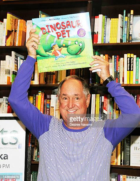 Singer and songwriter Neil Sedaka promotes his new book Dinosaur Pet at Barnes Noble 82nd Street on May 4 2012 in New York City