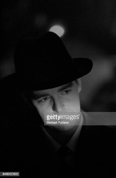 Singer and songwriter Neil Tennant of English electronic pop duo the Pet Shop Boys London December 1988 Taken during the shoot for the cover of Dusty...
