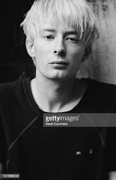 Singer and songwriter of British band Radiohead Thom Yorke in Gloucester England on August 31 1994
