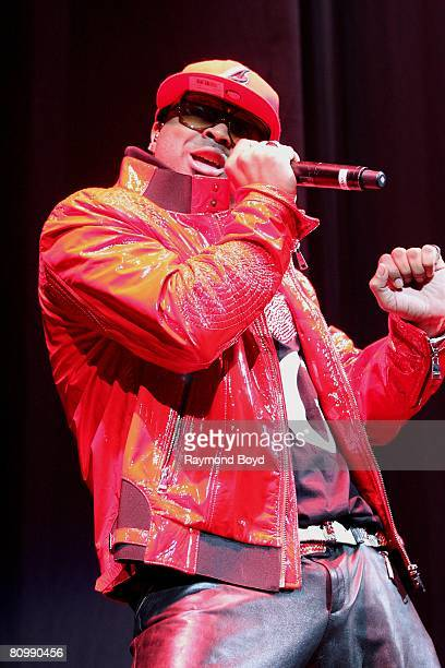 Singer and Songwriter The Dream opens for Mary J Blige and JayZ at the United Center during the Heart Of The City Tour in Chicago Illinois on April...