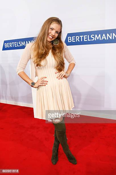 Singer and songwriter Victoria Swarovski attends the Bertelsmann Summer Party at Bertelsmann Repraesentanz on September 8 2016 in Berlin Germany