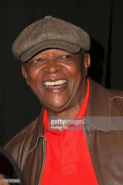 SInger and trumpeter Hugh Masekela attends the 35th Anniversary Playboy Jazz Festival Day 1 at the Hollywood Bowl on June 15 2013 in Hollywood...