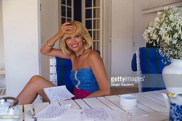 Singer and TV Host Amanda Lear