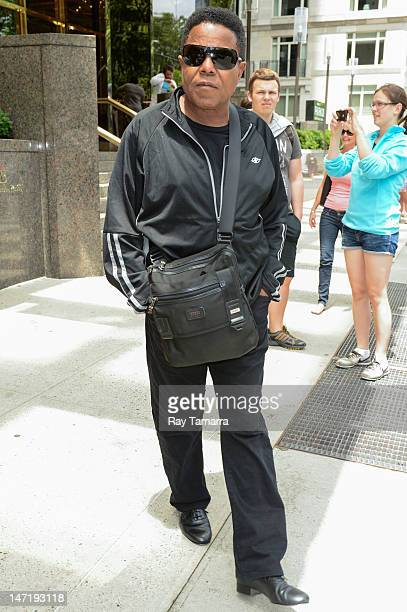 Singer and TV personality Tito Jackson leaves his Midtown Manhattan hotel on June 26 2012 in New York City