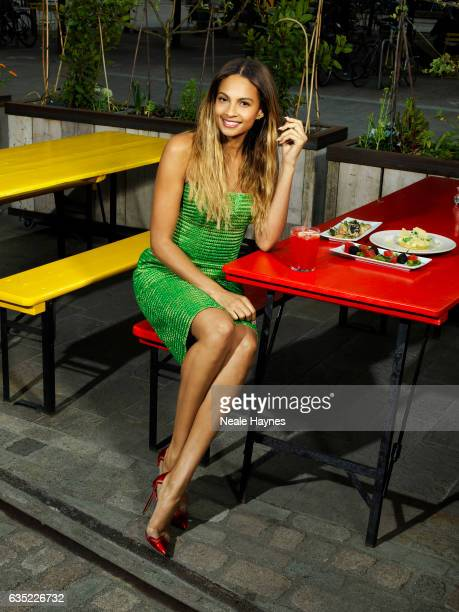 Singer and tv presenter Alesha Dixon is photographed for ES magazine on May 22, 2015 in London, England.