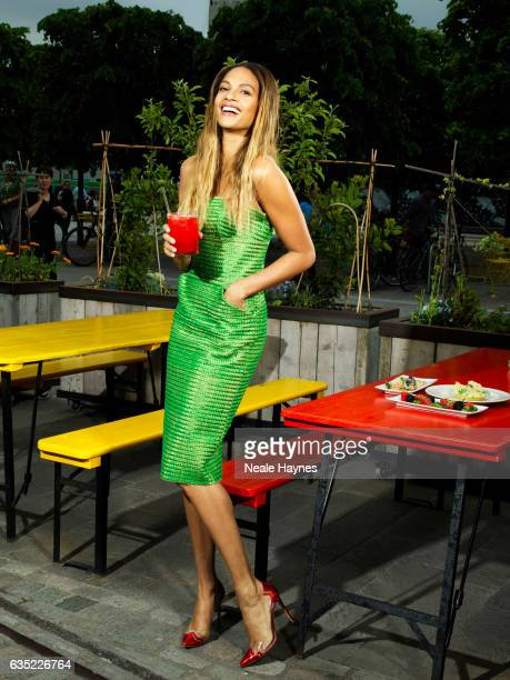 Singer and tv presenter Alesha Dixon is photographed for ES magazine on May 22 2015 in London England