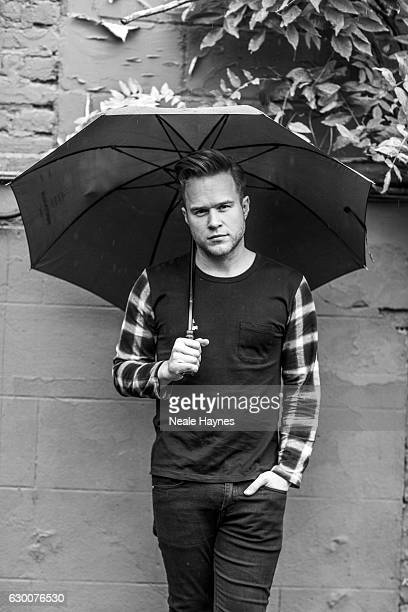 Singer and tv presenter Olly Murs is photographed for the Times on November 12 2016 in London England
