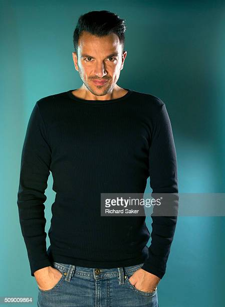 Singer and tv reality star Peter Andre is photographed for the Observer on October 15 2015 in London England
