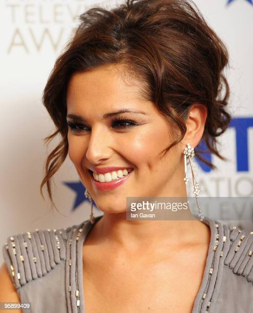 Singer and X Factor judge Cheryl Cole appears backstage at the National Television Awards held at O2 Arena on January 20 2010 in London England