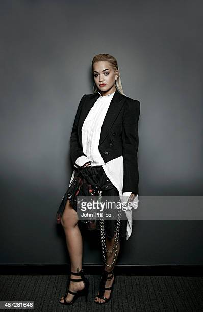 Singer and X Factor judge is photographed on September 3 2015 in London England