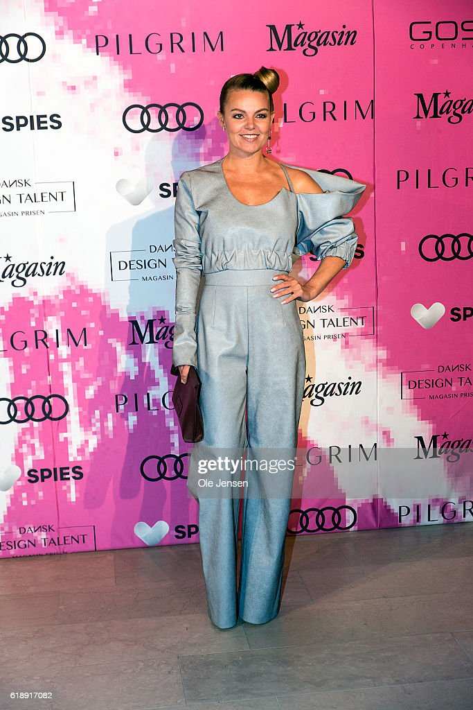 Singer and X-Faxtor judge Lina Rafn arrives to the Danish Talent Award 2016 show at the National Gallery on October 27, 2016 in Copenhagen, Denmark.