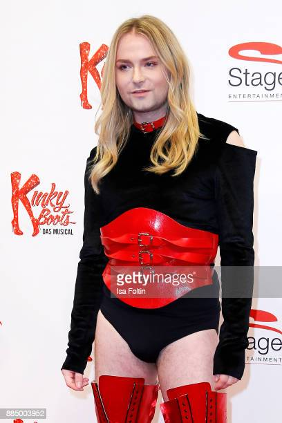 Singer and youtube star Jack Strify attends the 'Kinky Boots' Musical Premiere at Stage Operettenhaus on December 3 2017 in Hamburg Germany