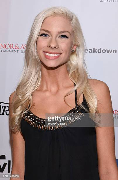 Singer Andie Case attends the TMA Manager of the Year Award at The TMA 2015 Heller Awards on May 28 2015 in Century City California