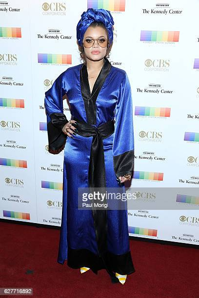 Singer Andra Day arrives at the 39th Annual Kennedy Center Honors at The Kennedy Center on December 4, 2016 in Washington, DC.