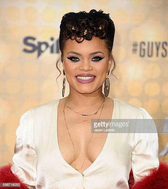 Singer Andra Day attends Spike TV's Guys Choice 2016 at Sony Pictures Studios on June 4, 2016 in Culver City, California.