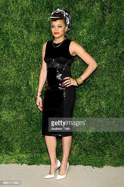 Singer Andra Day attends the 12th annual CFDA/Vogue Fashion Fund Awards at Spring Studios on November 2 2015 in New York City