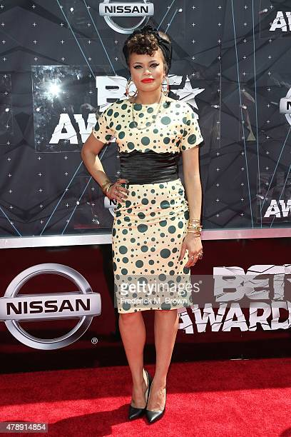 Singer Andra Day attends the 2015 BET Awards at the Microsoft Theater on June 28 2015 in Los Angeles California