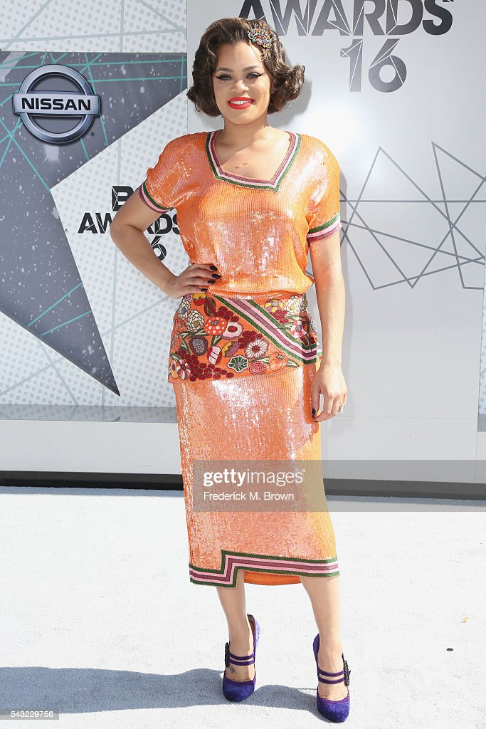 Singer Andra Day attends the 2016 BET Awards at the Microsoft Theater on June 26, 2016 in Los Angeles, California.