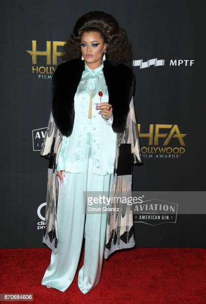 Singer Andra Day attends the 21st Annual Hollywood Film Awards at The Beverly Hilton Hotel on November 5, 2017 in Beverly Hills, California.