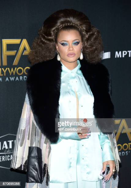 Singer Andra Day attends the 21st Annual Hollywood Film Awards, on November 5 in Beverly Hills, California. / AFP PHOTO / TARA ZIEMBA