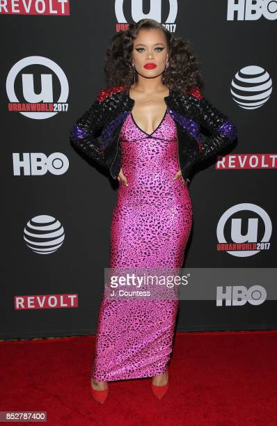Singer Andra Day attends the 21st Annual Urbanworld Film Festival at AMC Empire 25 theater on September 23 2017 in New York City