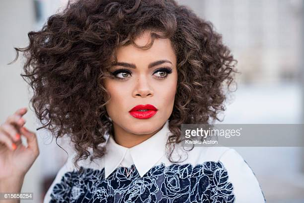 Singer Andra Day is photographed for Essence Magazine on December 18 2014 in Los Angeles California