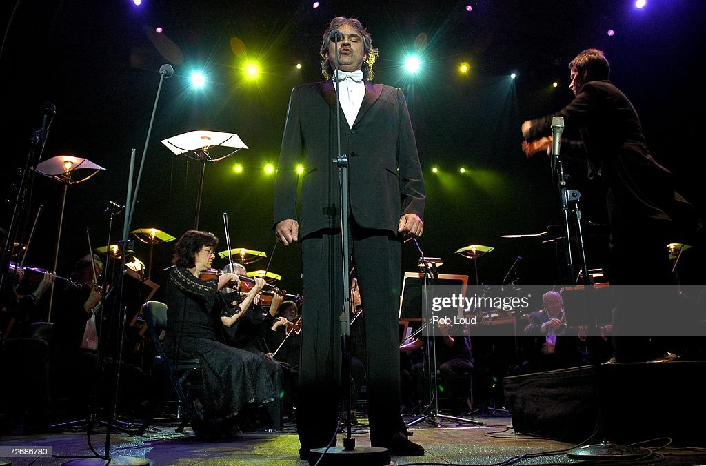 High Quality Singer Andrea Bocelli Performs In Concert At Madison Square Garden On  November 30, 2006 In Images