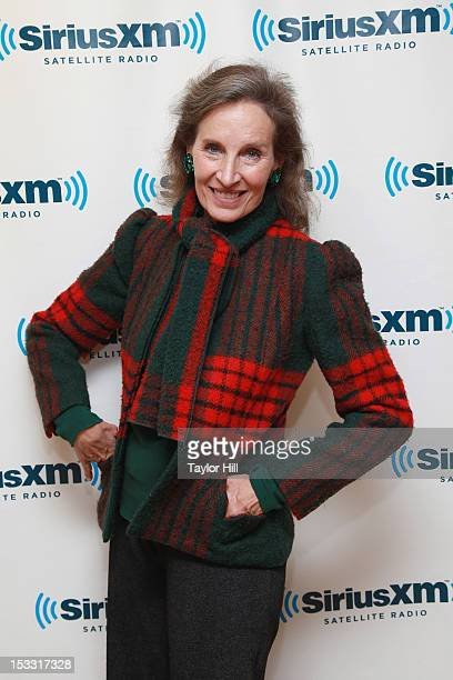 Singer Andrea Marcovicci visits the SiriusXM Studio on October 3 2012 in New York City