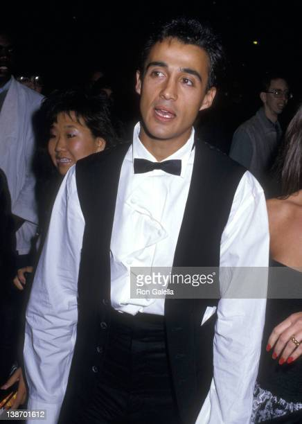 Singer Andrew Ridgeley attends the 'Beverly Hills Cop II' Hollywood Premiere on May 19 1987 at Mann's Chinese Theatre in Hollywood California