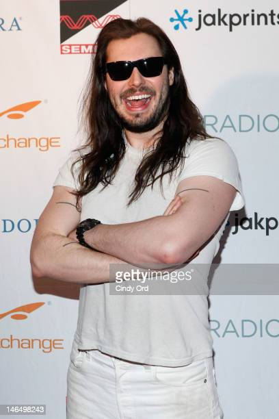 Singer Andrew WK attends the New Music Seminar 2012 Opening Night Red Carpet Partyat Webster Hall on June 17 2012 in New York City