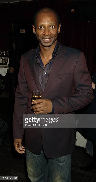 Singer Andy Abrahams attends the Chicago The Musical celebrity party to celebrate the West End transfer of the popular musical to the Cambridge...