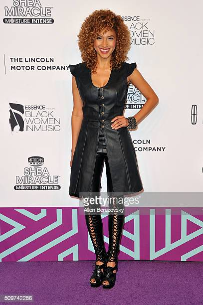 Singer Andy Allo attends ESSENCE 7th Annual Black Women In Music at Avalon Hollywood on February 11 2016 in Los Angeles California