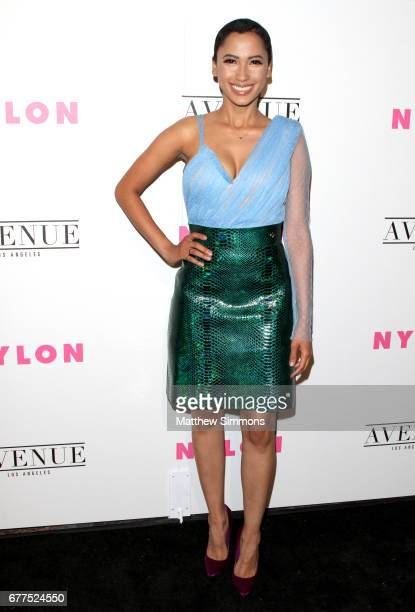 Singer Andy Allo attends NYLON's Annual Young Hollywood May Issue Event at Avenue on May 2 2017 in Los Angeles California